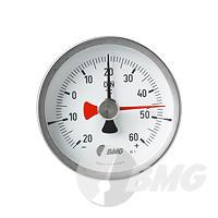 Schleppzeigerthermometer mit CrNi-Gehäuse