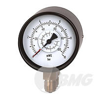 Differenzdruckmanometer St/Ms, NG100, Artikel 5370