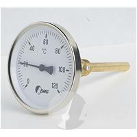 Bimetallthermometer für Heizungstechnik Klasse 2