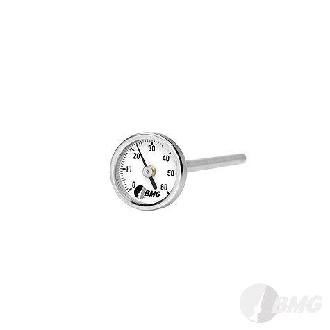 Bimetallthermometer, Kl.1,CrNi/CrNi, NG100, 0 bis+120°C/150mm,r,SR