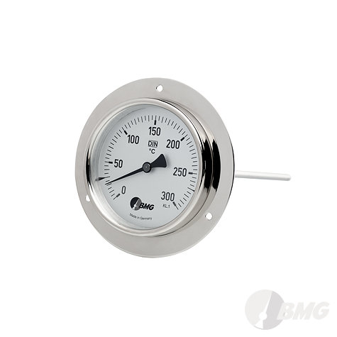 Luftkanal-Thermometer, CrNi, r, NG80/-40 +40°C/100mm/HBR