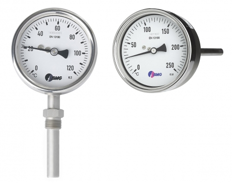 Gasdruckthermometer, CrNi, NG100, 0 +300°C/100mm,r