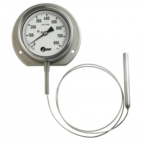 Gasdruckthermometer, CrNi/Cr/Ni, NG100, 0 bis+160°C,1m, HBR
