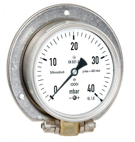 Differenzdruck mit Kapselfeder 25 mbar