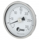 Ofenthermometer, CrNi/Ms,NG80, 0 bis+300°C/100mm/lG