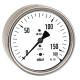 Druckmessgerät als Kapselfedermanometer mit Kupferlegierung für niedrige Anzeigebereiche